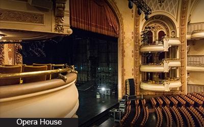 BAM Opera House A Hughes 400w