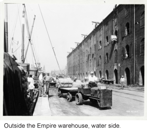 Empire Stores water side