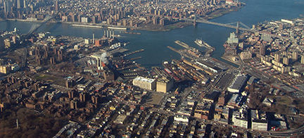 Brooklyn Navy Yard from the Air Kris Arnold