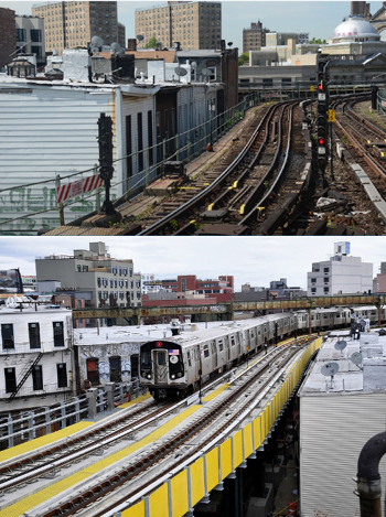 MTA Photo 4 Close PRoximity Before and AFter