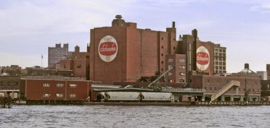 Schaefer Brewery riv vu